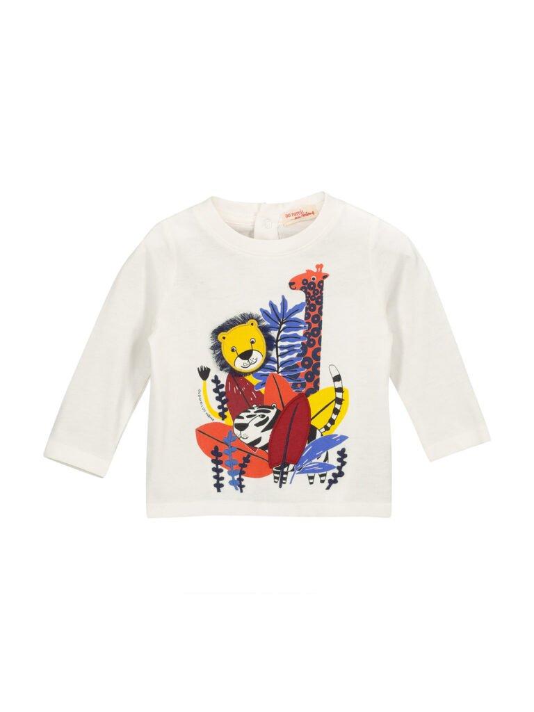 T-shirt à motifs pour garçons avec des animaux