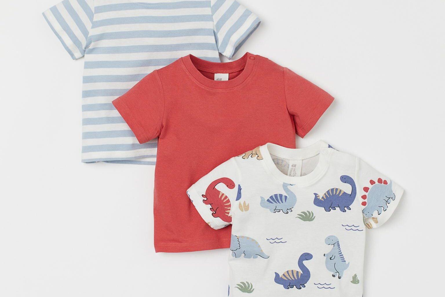 Ma sélection de t-shirts à motifs pour garçons 0-3 ans