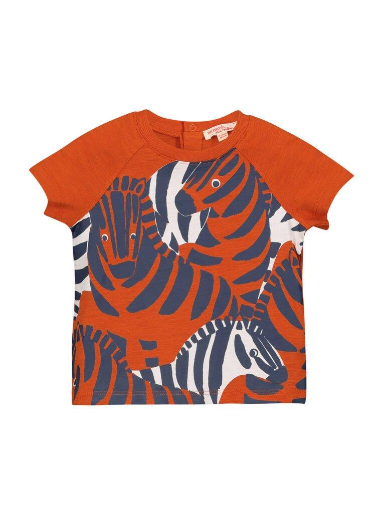 T-shirt à motif pour garçons avec des zèbres