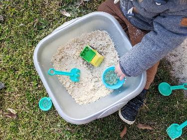 Comment faire du sable magique en 5 minutes