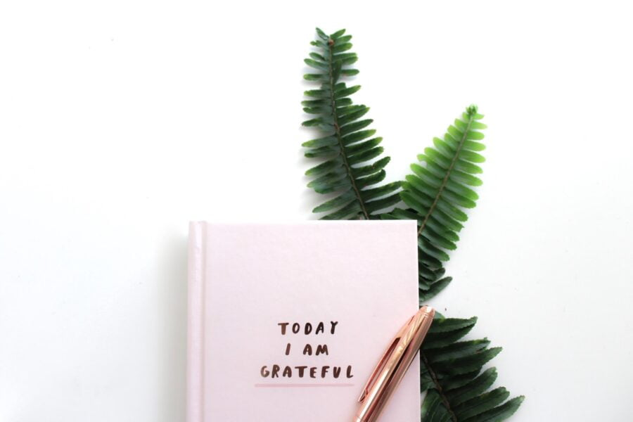 2e rituel de ma routine du soir: je liste mes gratitudes